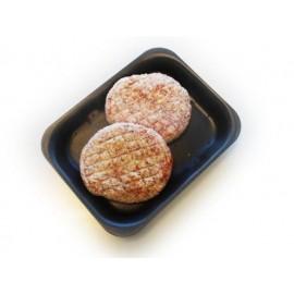Hamburger wit gepaneerd