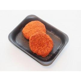 Hamburger paprika gepaneerd