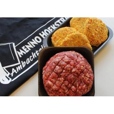 500gr hoh gehakt & 4 gepaneerde hamburgers