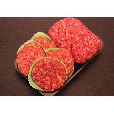 500 gr Rundergehakt en 4 runderhamburgers